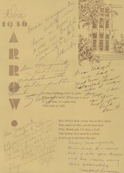 Page 5, 1936 Edition, Watertown High School - Arrow Yearbook (Watertown, SD) online yearbook collection