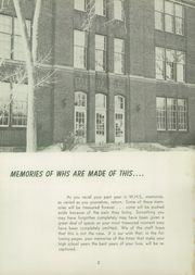 Page 6, 1958 Edition, Watertown High School - Arrow Yearbook (Watertown, SD) online yearbook collection