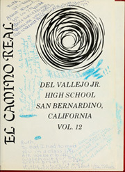 Page 5, 1971 Edition, Del Vallejo Middle School - El Camino Real Yearbook (San Bernardino, CA) online yearbook collection