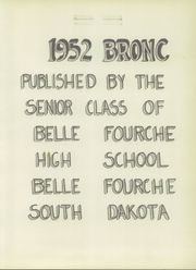 Page 7, 1952 Edition, Belle Fourche High School - Bronc Yearbook (Belle Fourche, SD) online yearbook collection