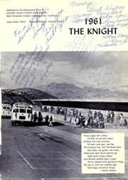 Page 5, 1961 Edition, Golden Valley Middle School - Knight Yearbook (San Bernardino, CA) online yearbook collection