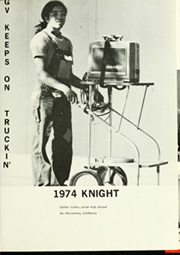 Page 5, 1974 Edition, Golden Valley Middle School - Knight Yearbook (San Bernardino, CA) online yearbook collection