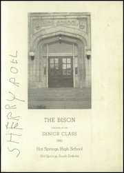 Page 3, 1941 Edition, Hot Springs High School - Bison Yearbook (Hot Springs, SD) online yearbook collection