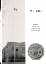 Page 5, 1960 Edition, Hot Springs High School - Bison Yearbook (Hot Springs, SD) online yearbook collection