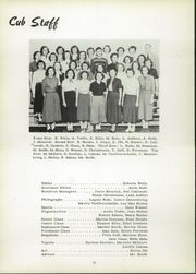 Page 14, 1953 Edition, Chamberlain High School - Cub Yearbook (Chamberlain, SD) online yearbook collection