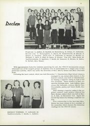 Page 16, 1953 Edition, Chamberlain High School - Cub Yearbook (Chamberlain, SD) online yearbook collection