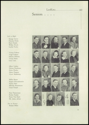 Page 17, 1940 Edition, Lennox High School - Len Kota Yearbook (Lennox, SD) online yearbook collection