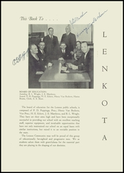 Page 7, 1940 Edition, Lennox High School - Len Kota Yearbook (Lennox, SD) online yearbook collection