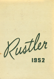 1952 Edition, Miller High School - Rustler Yearbook (Miller, SD)