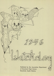 Page 3, 1946 Edition, Beresford High School - Watchdog Yearbook (Beresford, SD) online yearbook collection
