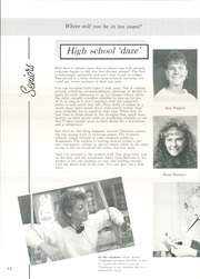 Page 16, 1988 Edition, Roncalli High School - Lance Yearbook (Aberdeen, SD) online yearbook collection