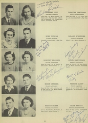 Gettysburg High School - Boomerang Yearbook (Gettysburg, SD) online yearbook collection, 1947 Edition, Page 16
