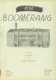 Page 7, 1952 Edition, Gettysburg High School - Boomerang Yearbook (Gettysburg, SD) online yearbook collection