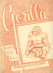 1956 Edition, Gregory High School - Gorilla Yearbook (Gregory, SD)