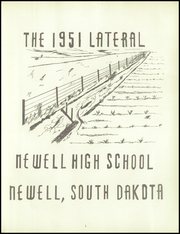 Page 5, 1951 Edition, Newell High School - Lateral Yearbook (Newell, SD) online yearbook collection