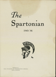 Page 3, 1946 Edition, Wessington Springs High School - Spartonian Yearbook (Wessington Springs, SD) online yearbook collection