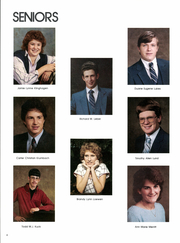 Page 10, 1986 Edition, Parker High School - Annual Yearbook (Parker, SD) online yearbook collection