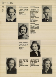 Page 12, 1946 Edition, Burke High School - Bulldog Yearbook (Burke, SD) online yearbook collection