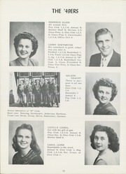 Page 14, 1949 Edition, Burke High School - Bulldog Yearbook (Burke, SD) online yearbook collection