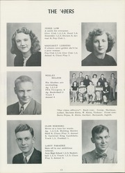 Page 15, 1949 Edition, Burke High School - Bulldog Yearbook (Burke, SD) online yearbook collection