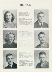 Page 17, 1949 Edition, Burke High School - Bulldog Yearbook (Burke, SD) online yearbook collection