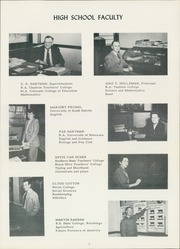 Page 9, 1949 Edition, Burke High School - Bulldog Yearbook (Burke, SD) online yearbook collection