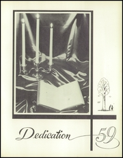 White River High School - Tiger Yearbook (White River, SD) online yearbook collection, 1959 Edition, Page 7