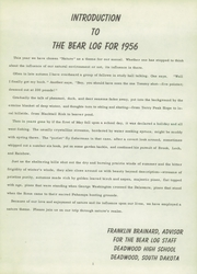 Page 5, 1956 Edition, Deadwood High School - Bear Log Yearbook (Deadwood, SD) online yearbook collection