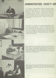 Page 8, 1956 Edition, Deadwood High School - Bear Log Yearbook (Deadwood, SD) online yearbook collection