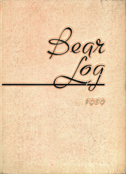 Page 1, 1959 Edition, Deadwood High School - Bear Log Yearbook (Deadwood, SD) online yearbook collection