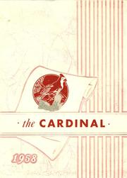 1958 Edition, Wolsey High School - Cardinal Yearbook (Wolsey, SD)
