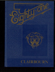 Page 1, 1981 Edition, Clairbourn Middle School - Clairbourn Yearbook (San Gabriel, CA) online yearbook collection