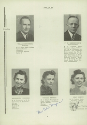 Page 6, 1941 Edition, Colome High School - Cowboy Yearbook (Colome, SD) online yearbook collection