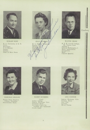 Page 7, 1941 Edition, Colome High School - Cowboy Yearbook (Colome, SD) online yearbook collection
