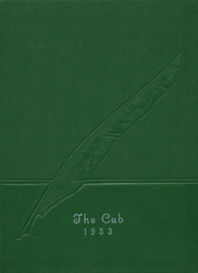 1953 Edition, Salem High School - Cub Yearbook (Salem, SD)