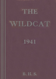 1941 Edition, Bridgewater High School - Wildcat Yearbook (Bridgewater, SD)