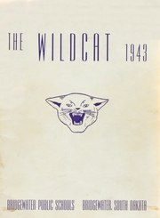 Bridgewater High School - Wildcat Yearbook (Bridgewater, SD) online yearbook collection, 1943 Edition, Page 1