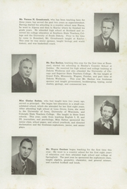 Page 11, 1949 Edition, Bonesteel High School - Tiger Yearbook (Bonesteel, SD) online yearbook collection