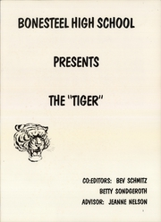Page 3, 1977 Edition, Bonesteel High School - Tiger Yearbook (Bonesteel, SD) online yearbook collection