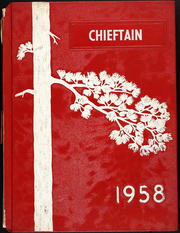 1958 Edition, Tulare High School - Chieftain Yearbook (Tulare, SD)