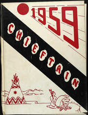 1959 Edition, Tulare High School - Chieftain Yearbook (Tulare, SD)