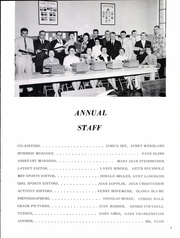 Page 7, 1960 Edition, Tulare High School - Chieftain Yearbook (Tulare, SD) online yearbook collection