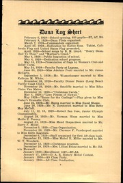 Page 11, 1930 Edition, Dana Middle School - Log Yearbook (San Pedro, CA) online yearbook collection