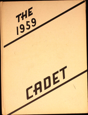 1959 Edition, Dakota Christian High School - Cadet Yearbook (New Holland, SD)