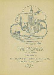 Page 5, 1937 Edition, Humboldt High School - Pioneer Yearbook (Humboldt, SD) online yearbook collection