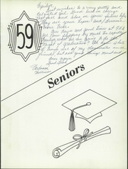 Page 13, 1959 Edition, Franklin High School - Flyer Yearbook (Madison, SD) online yearbook collection