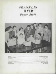 Page 6, 1959 Edition, Franklin High School - Flyer Yearbook (Madison, SD) online yearbook collection
