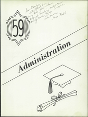 Page 9, 1959 Edition, Franklin High School - Flyer Yearbook (Madison, SD) online yearbook collection