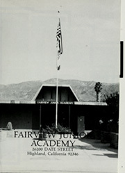 Page 5, 1986 Edition, Fairview Junior Academy - Visions Yearbook (Highland, CA) online yearbook collection