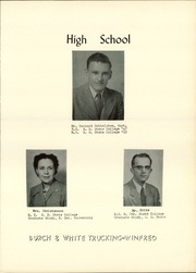 Page 9, 1955 Edition, Winfred High School - Warrior Yearbook (Winfred, SD) online yearbook collection